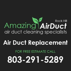 air duct replacement Rock Hill SC